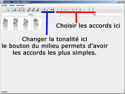Glabuke Transposer les accords